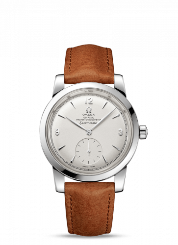 Omega 511.12.38.20.02.001 : Seamaster 1948 Small Seconds Stainless Steel / Silver / Leather