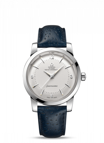 Omega 511.13.38.20.02.001 : Seamaster 1948 Central Seconds Stainless Steel / Silver / Leather