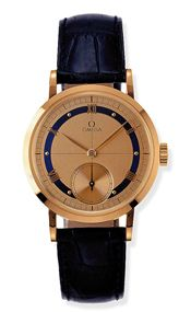 Omega 5950.31.03 : Museum Collection Centenary 1894 Red Gold / Gilt / Japan