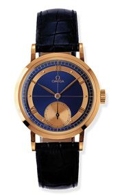 Omega 5950.81.03 : Museum Collection Centenary 1894 Red Gold / Blue / Japan