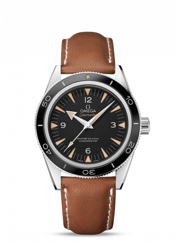 233.32.41.21.01.002 : Omega Seamaster 300 Master Co-Axial Stainless Steel / Black / Strap