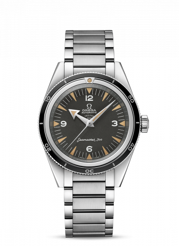 Omega 234.10.39.20.01.002 : Seamaster 300 Master Co-Axial Stainless Steel / Black / Bracelet / 60th Anniversary / Trilogy Box