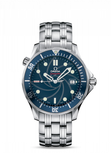 Omega 2226.80.00 : Seamaster Diver 300M Co-Axial 41 Stainless Steel / Blue / Bracelet / Casino Royale