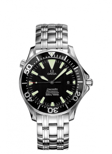 Omega 2054.50.00 : Seamaster Diver 300M Automatic 41 Stainless Steel / Black / Bracelet