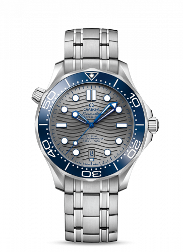 Omega 210.30.42.20.06.001 : Seamaster Diver 300M Master Co-Axial 42 Stainless Steel / Grey / Bracelet