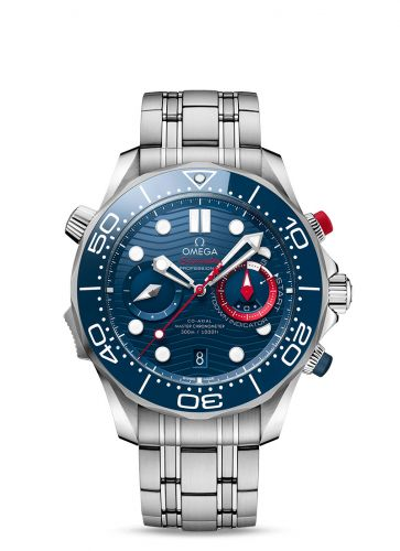 Omega 210.30.44.51.03.002 : Seamaster Diver 300M Master Co-Axial 44 Chronograph America's Cup