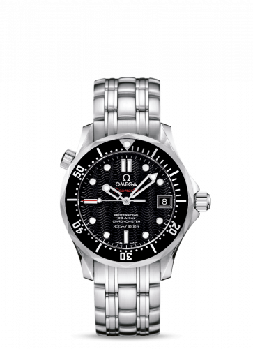 Omega 212.30.36.20.01.001 : Seamaster Diver 300M Co-Axial 36.25 Stainless Steel / Black / Bracelet