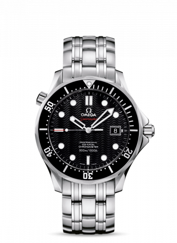 Omega 212.30.41.20.01.002 : Seamaster Diver 300M Co-Axial 41 Stainless Steel / Black / Bracelet