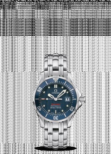 Omega 2224.80.00 : Seamaster Diver 300M Quartz 28 Stainless Steel / Blue / Bracelet