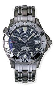 Omega 2232.30.00 : Seamaster Diver 300M Automatic 41 Titanium / Grey / Bracelet / 150th Anniversary