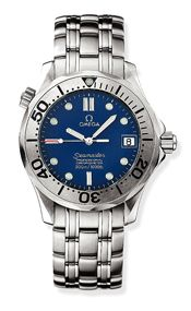 Omega 2250.80.00 : Seamaster Diver 300M Automatic 36.25 Stainless Steel / Blue / Bracelet / Japan
