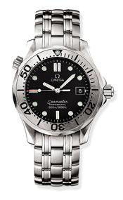 Omega 2260.50.00 : Seamaster Diver 300M Quartz 36.25 Stainless Steel / Black / Bracelet / Japan