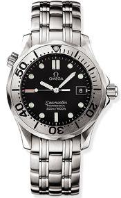 Omega 2261.50.00 : Seamaster Diver 300M Quartz 41 Stainless Steel / Black / Bracelet / Japan
