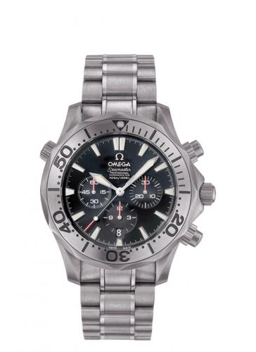 Omega 2293.52.00 : Seamaster Diver 300M Automatic 41.5 Chronograph Titanium / Black / Bracelet