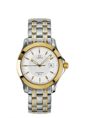 Omega 2311.21.00 : Seamaster 120M Quartz 41 Stainless Steel / Yellow Gold / White / Bracelet