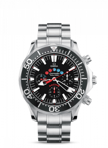 Omega 2569.52.00 : Seamaster Diver 300M Automatic 44 Racing Chronometer Stainless Steel / Black / Rubber