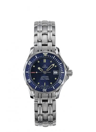 Omega 2583.80.00 : Seamaster Diver 300M Quartz 28 Stainless Steel / Blue / Bracelet
