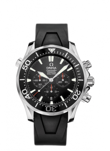 2894.52.91 : Omega Seamaster Diver 300M Automatic 41.5 Chronograph Stainless Steel / Black / Rubber