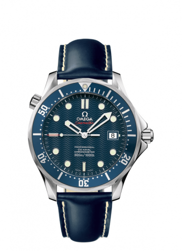 Omega 2920.80.91 : Seamaster Diver 300M Co-Axial 41 Stainless Steel / Blue / Rubber