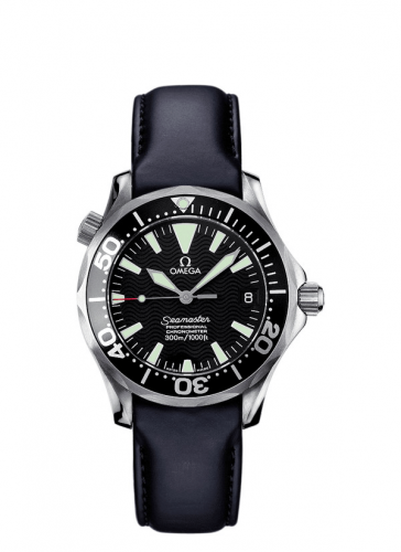 Omega 2952.50.91 : Seamaster Diver 300M Automatic 36.25 Stainless Steel / Black / Rubber
