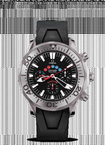 Omega 2969.52.91 : Seamaster Diver 300M Automatic 44 Racing Chronometer Titanium / Black / Rubber