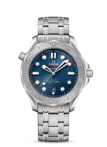Omega 522.30.42.20.03.001 : Seamaster Diver 300M Master Co-Axial 42 Beijing 2022 Olympic Winter Games