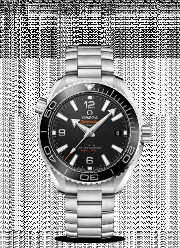 Omega 215.30.40.20.01.001 : Seamaster Planet Ocean 600M Co-Axial 39.5 Master Chronometer Stainless Steel / Black / Bracelet