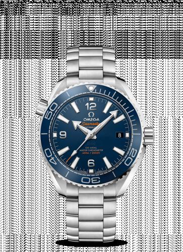 Omega 215.30.40.20.03.001 : Seamaster Planet Ocean 600M Co-Axial 39.5 Master Chronometer Stainless Steel / Blue / Bracelet