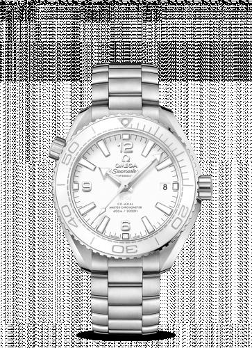 Omega 215.30.40.20.04.001 : Seamaster Planet Ocean 600M Co-Axial 39.5 Master Chronometer Stainless Steel / White / Bracelet
