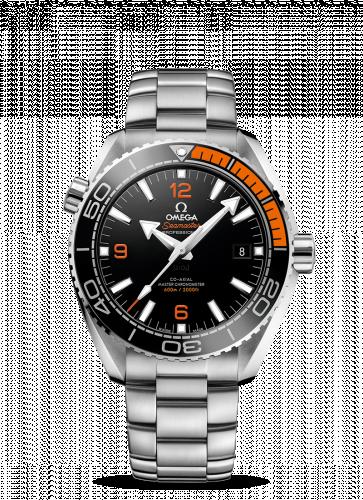 215.30.44.21.01.002 : Omega Seamaster Planet Ocean 600M Co-Axial 43.5 Master Chronometer Stainless Steel / Orange / Bracelet