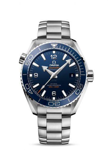 215.30.44.21.03.003 : Omega Seamaster Planet Ocean 600M Co-Axial 43.5 Master Chronometer Stainless Steel / Blue / Bracelet