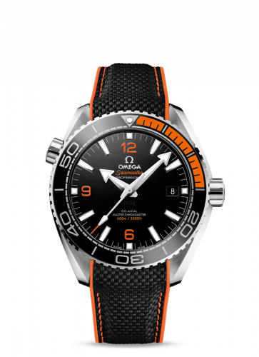 215.32.44.21.01.001 : Omega Seamaster Planet Ocean 600M Co-Axial 43.5 Master Chronometer Stainless Steel / Orange / Rubber