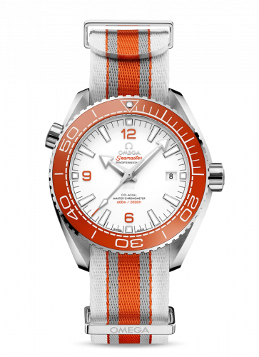 215.32.44.21.04.001 : Omega Seamaster Planet Ocean 600M Co-Axial 43.5 Master Chronometer Stainless Steel / White / NATO