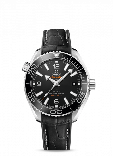 Omega 215.33.40.20.01.001 : Seamaster Planet Ocean 600M Co-Axial 39.5 Master Chronometer Stainless Steel / Black / Strap