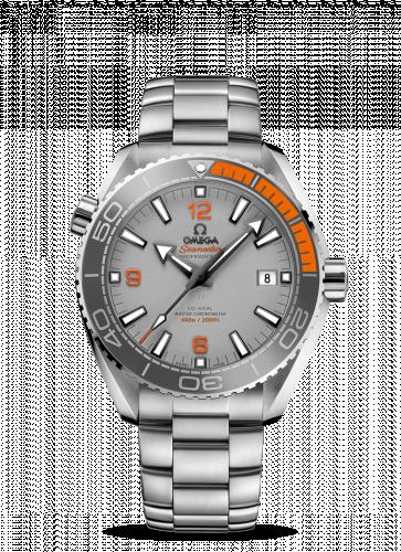 215.90.44.21.99.001 : Omega Seamaster Planet Ocean 600M Co-Axial 43.5 Master Chronometer Titanium / Grey / Bracelet