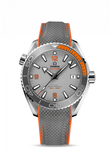 215.92.44.21.99.001 : Omega Seamaster Planet Ocean 600M Co-Axial 43.5 Master Chronometer Titanium / Grey / Rubber