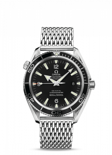 Omega 2201.52.00 : Seamaster Planet Ocean 600M Co-Axial 42 Stainless Steel / Black / Shark