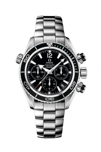 Omega 222.30.38.50.01.001 : Seamaster Planet Ocean 600M Co-Axial 37.5 Chronograph Stainless Steel / Black / Bracelet
