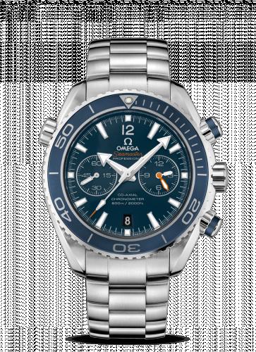 Omega 232.90.46.51.03.001 : Seamaster Planet Ocean 600M Co-Axial 45.5 Chronograph Titanium / Liquidmetal / Bracelet