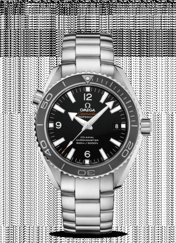 Omega 232.30.42.21.01.001 : Seamaster Planet Ocean 600M Co-Axial 42 Stainless Steel / Black / Bracelet