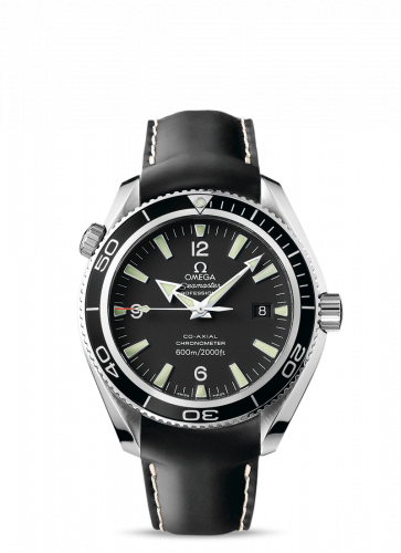 Omega 2901.50.81 : Seamaster Planet Ocean 600M Co-Axial 42 Stainless Steel / Black / Rubber