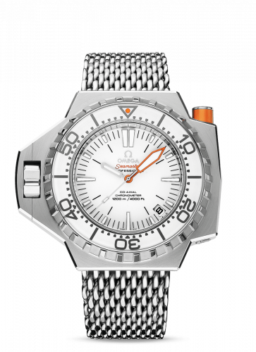 224.30.55.21.04.001 : Omega Seamaster PloProf Co-Axial Stainless Steel / White / Shark