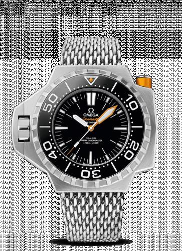 Omega 227.90.55.21.01.001 : Seamaster PloProf Co-Axial Master Chronometer Titanium / Black