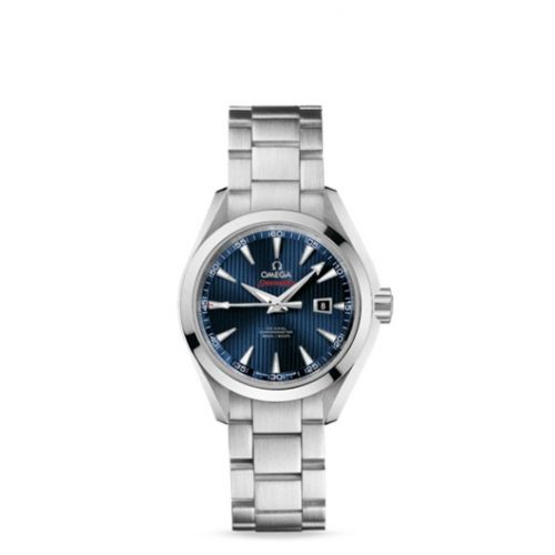 522.10.34.20.03.001 : Omega Seamaster Aqua Terra 150M Co-Axial 34 Stainless Steel / Blue / Bracelet / Olympic Collection London 2012