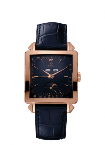 """5701.80.03 : Omega Musem Collection N° 2 """"Cosmic"""" 1951 Red Gold / Blue"""