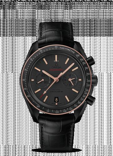 Omega 311.63.44.51.06.001 : Speedmaster Moonwatch Co-Axial Dark Side of the Moon Sedna Black