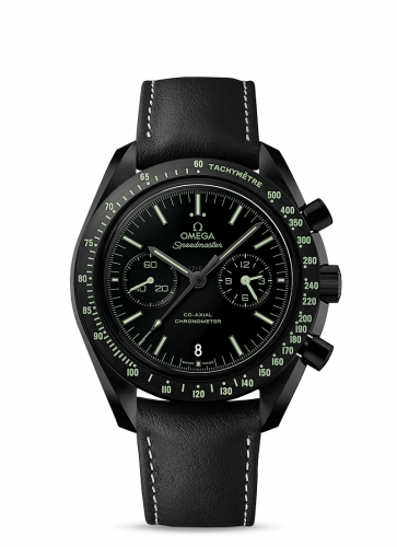 Omega 311.92.44.51.01.004 : Speedmaster Moonwatch Co-Axial Dark Side of the Moon Pitch Black