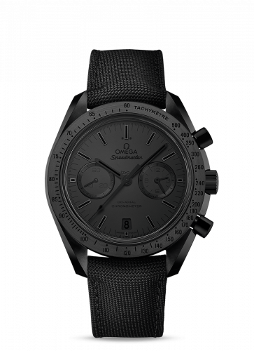 Omega 311.92.44.51.01.005 : Speedmaster Moonwatch Co-Axial Dark Side of the Moon Black Black