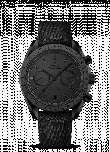 Omega 311.92.44.51.01.005 : Speedmaster Moonwatch Co-Axial Dark Side of the Moon Black Black