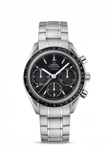 Omega 326.30.40.50.01.001 : Speedmaster Racing Co-Axial Chronograph Stainless Steel / Black / Bracelet